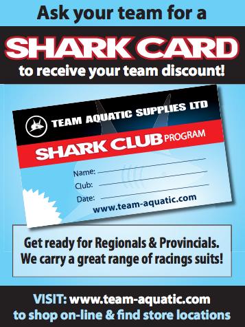 TEAM AQUATICS and the SHARK CARD